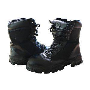 Bates Enforcer Steel Toe Boots Waterproof 9 inch  EUC Size 8